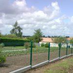 machecoul clotures panneaux rigides verts 44